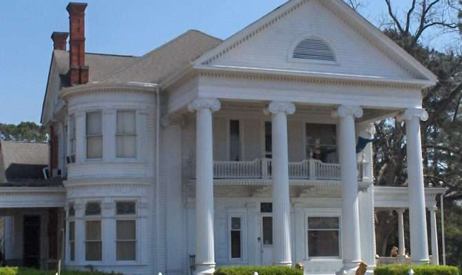 Early Classical Revival Style House Greek Homes