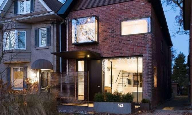 Early Toronto Home Glassy Modern Renovation