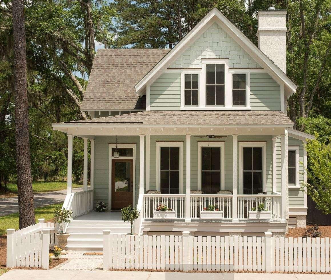 East Beach Cottage House Plan Design