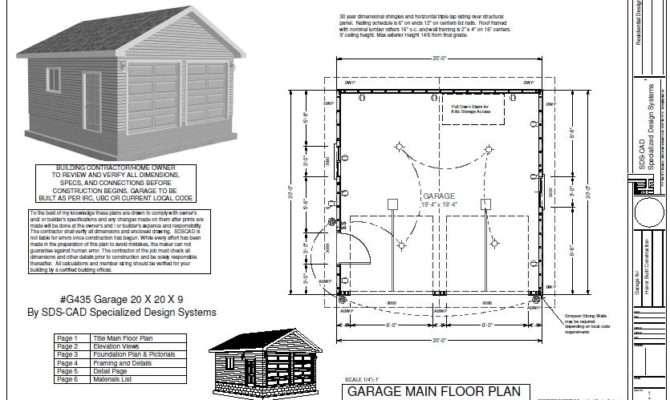 Easy Follow Garage Plan House