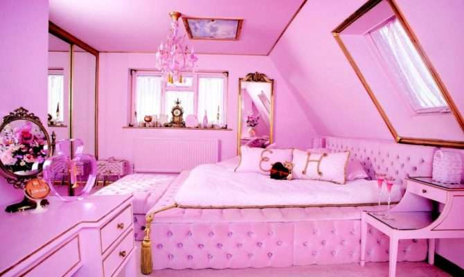 Eaton House Studio Pink Airbnb Popsugar Home Australia