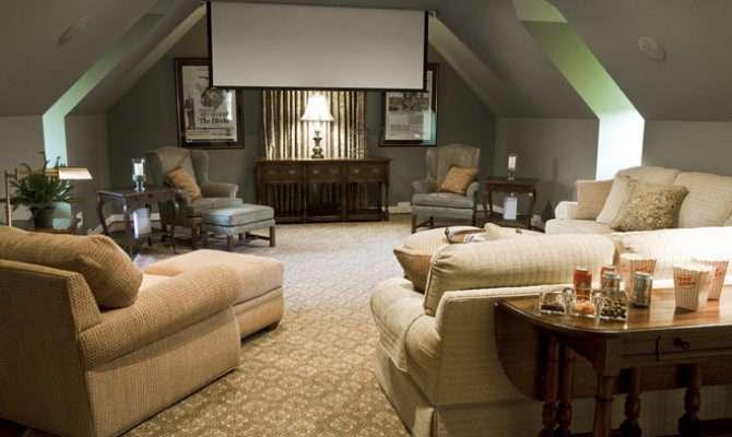 Eclectic Media Room Kirsten Nease Designs