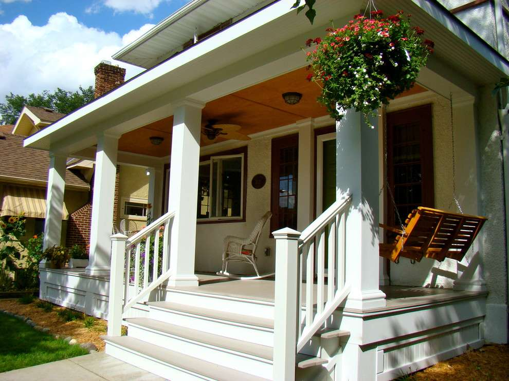 Eclectic Porch Ideas Outdoor Designs Design Trends