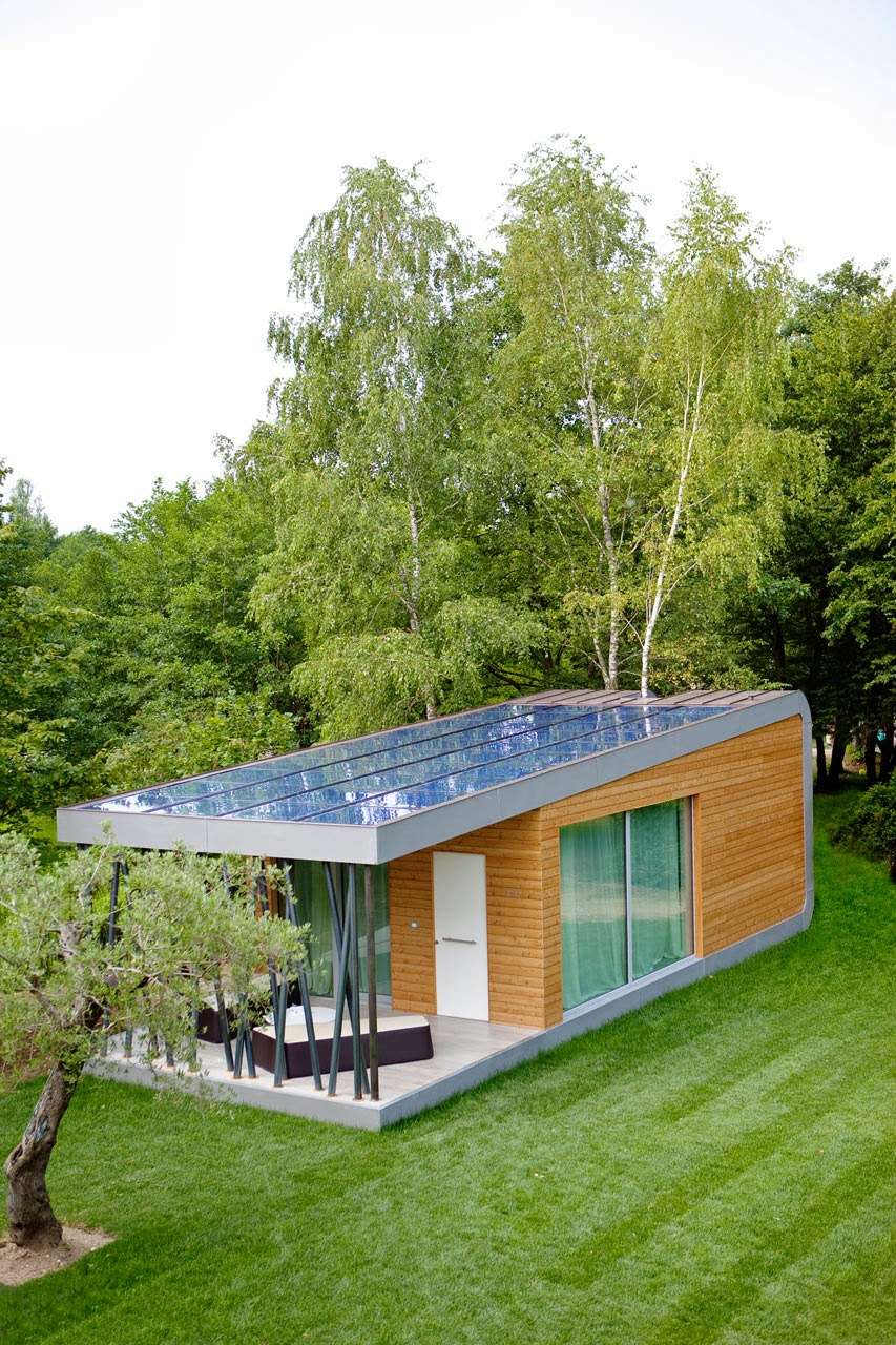 Eco Friendly Home Green Zero House Modern Design