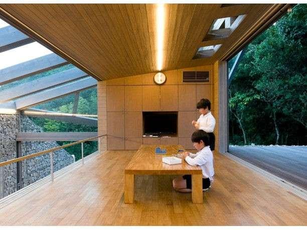 Eco Friendly House Designs Japan Homeexteriorinterior