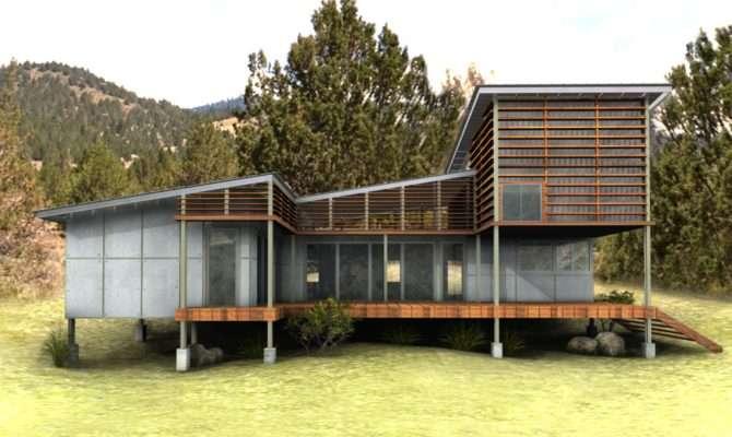 Eco Friendly House New Plan