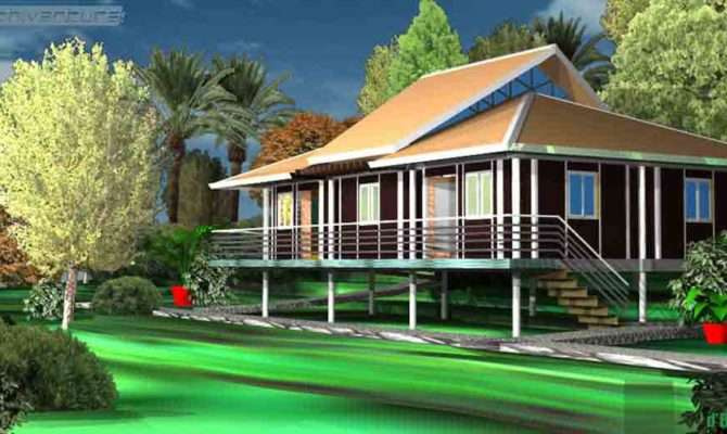 Eco Tropic Building Design Ideal Home Tropical Ghana