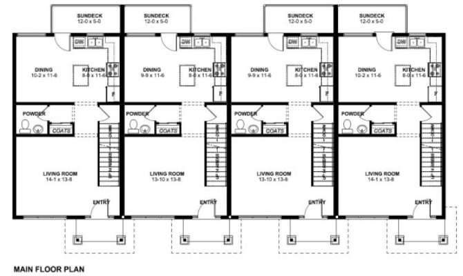 Economical Multi Dwelling House Plan Hunters