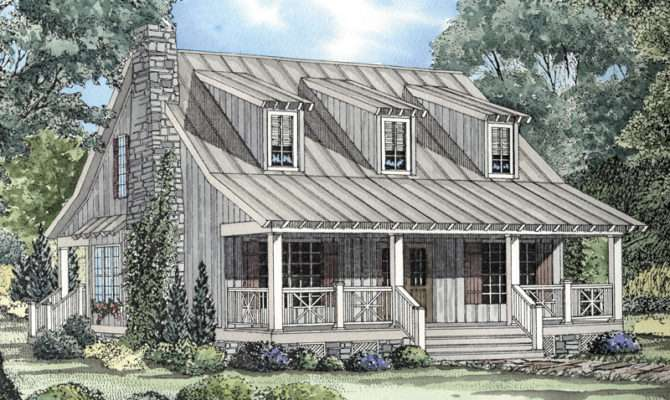 Edelen Cabin Cottage Home Plan House Plans More