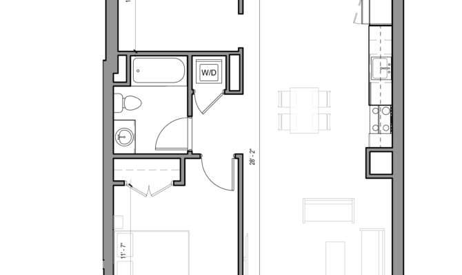 Edge Allston Floor Plans