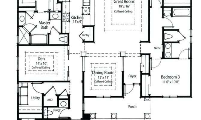 Efficient Floor Plans Space Apartment Dream Kitchen Modern