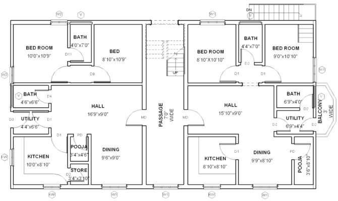 Efficient Modern House Floor Plans Home Design