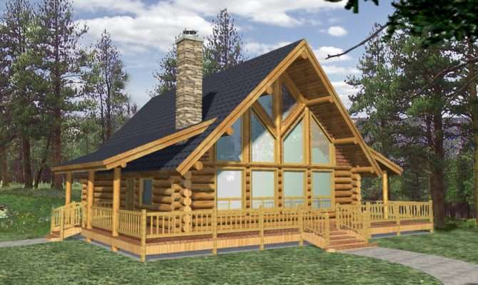 Efficientr Style Log Home Design Coast Mountain