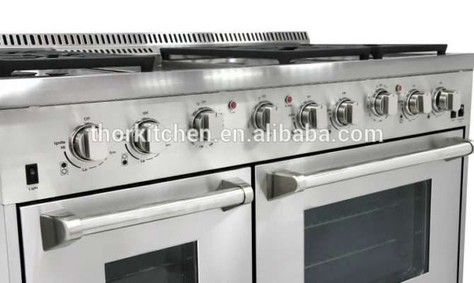 Electric Oven Combination Gas Range