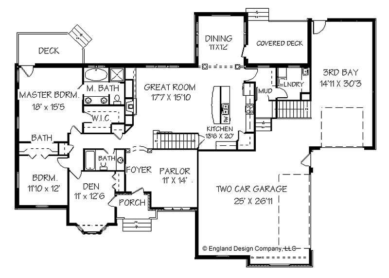 Elegant Affordable Living Made Possible Ranch Floor