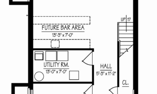 Elegant Basement Floor Plans House Plan