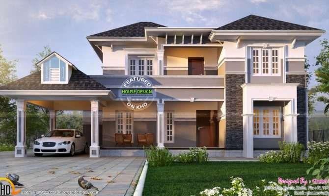 Elegant Home Plan Kerala Design