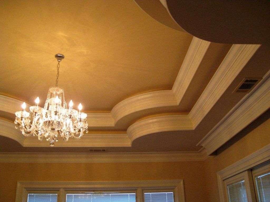 Elegant Modern Tray Ceiling Bedroom Designs