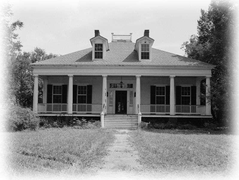 Elegant Single Story Antebellum Plantation Home
