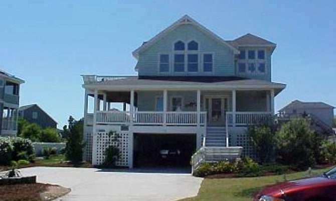 Elegant Story Beach House Plan Home Inspiration