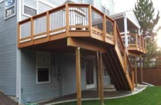 Elevated Deck Plans Pinterest