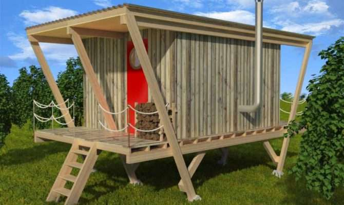 Elevated Tiny House Plans