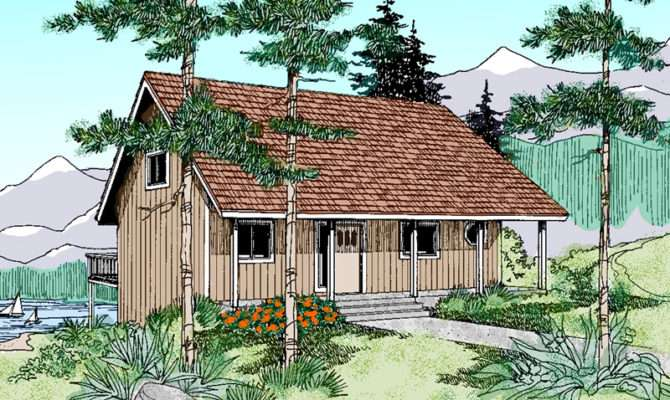 Elm Haven Vacation Cottage Home Plan House Plans More