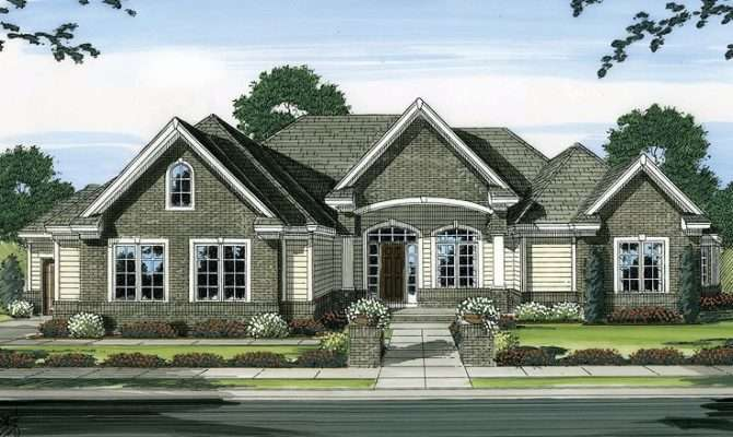 Empty Nester Home Plan Hillside House Plans Pinterest