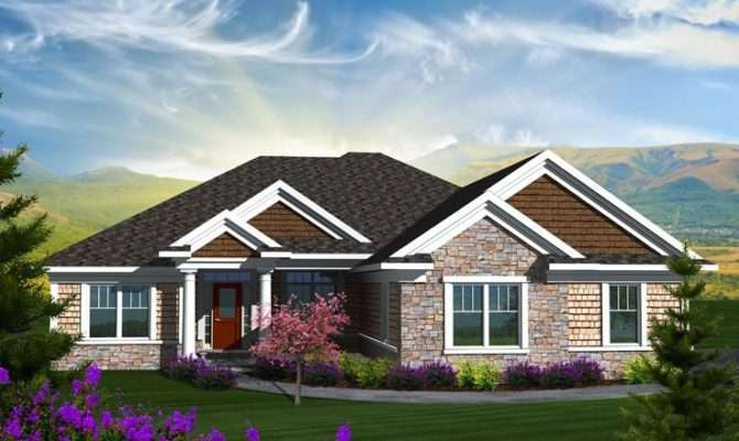 Empty Nester Home Plans Traditional House Plan