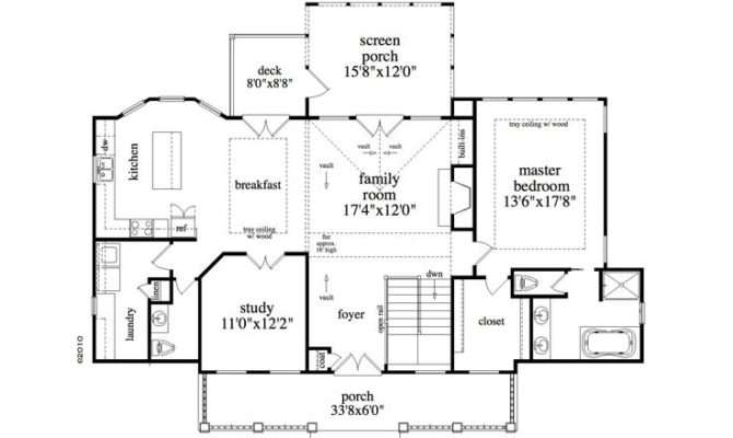 Empty Nester House Plans Mountain Home Plan