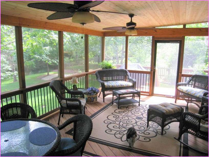 Enclosed Patio Ideas Home Design