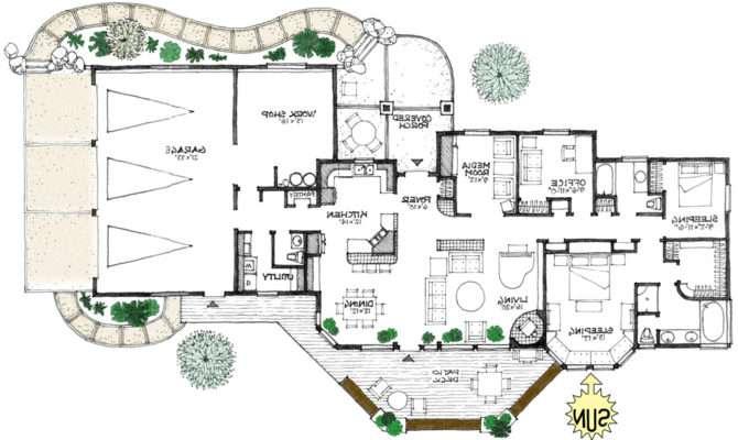 Energy Efficient Homes Floor Plans Reverse Plan