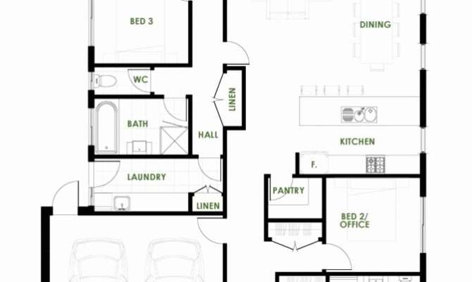 Energy Efficient House Plans Eco Friendly Home Space Small