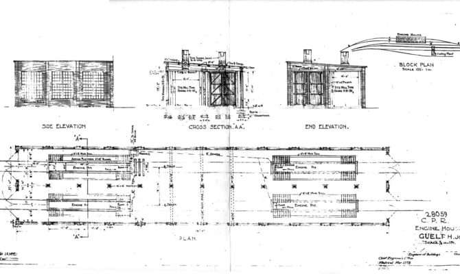 Engine House Plan March