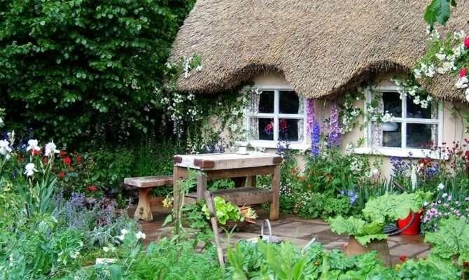 Дизайн огорода в деревне