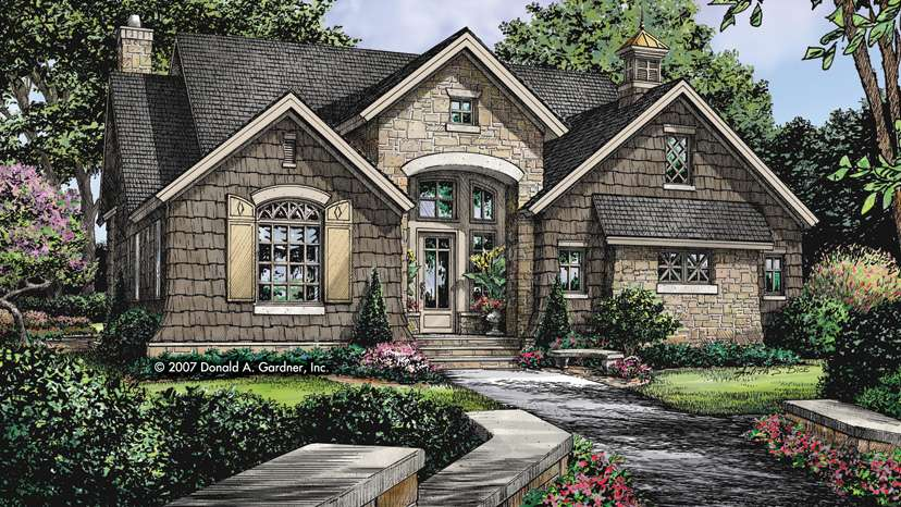 English Cottage Home Plans Designs