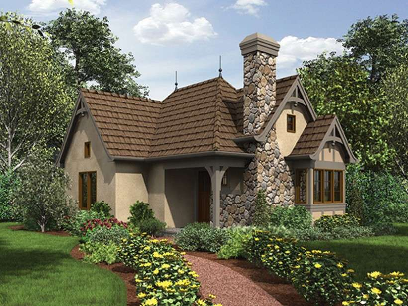 English Stone Cottage House Plans english cottage house plan square feet bedroom - architecture