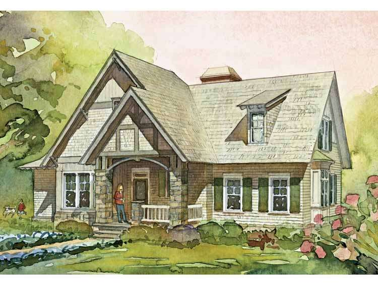 Contemporary Modern English Cottage House Plans Simple Design One