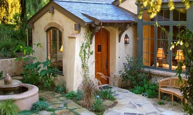 English Cottage Style House Plans Pretty Garden