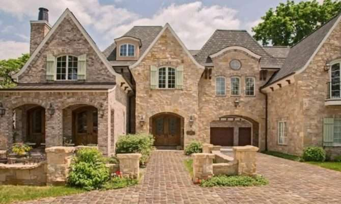 English Manor Style Home Plans