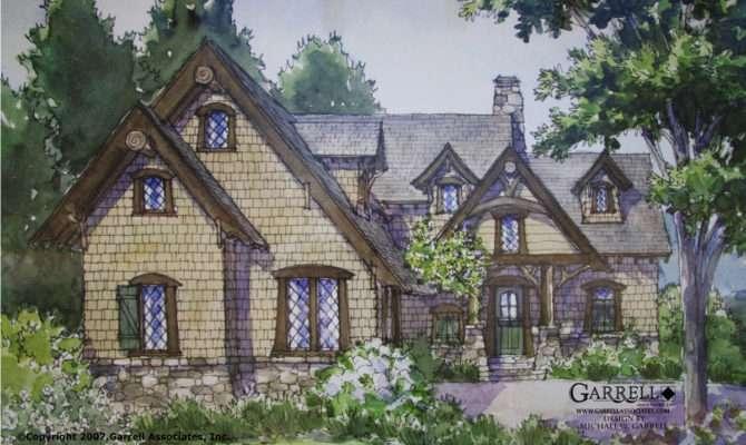 English Stone Cottage Designs Shake Grace