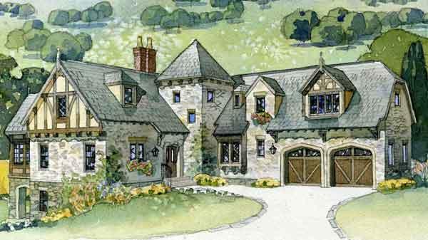 English Tudor House Plans Southern Living