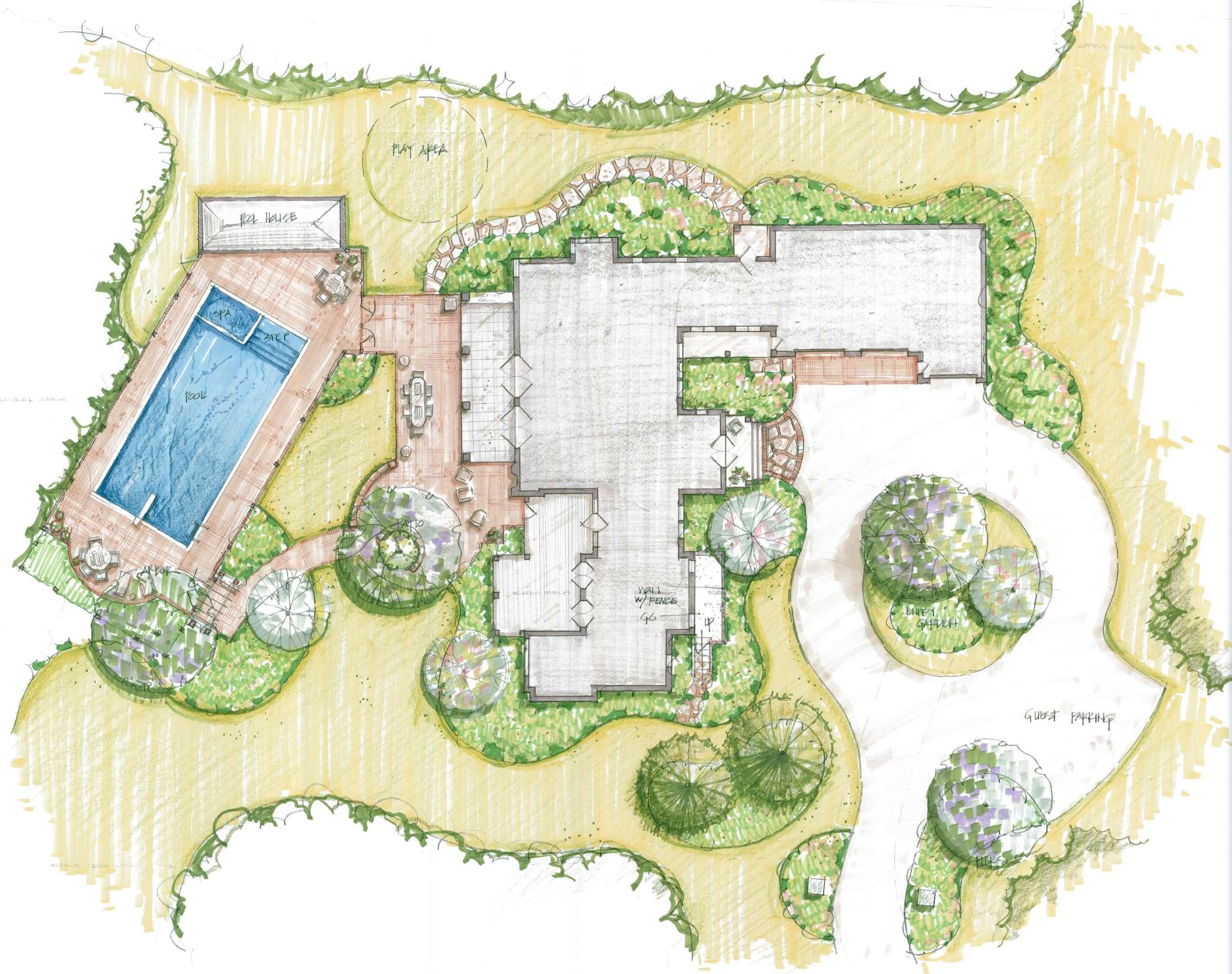 Enjoy Landscape Planning Landscaping Gardening