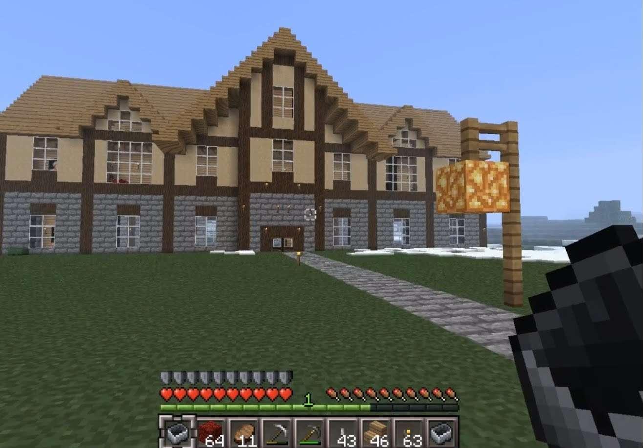Epic Big House Minecraft Youtube