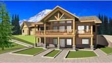 Eplans Chalet House Plan Three Bedroom Square Feet