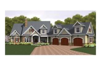 Eplans Colonial House Plan Story Great Room