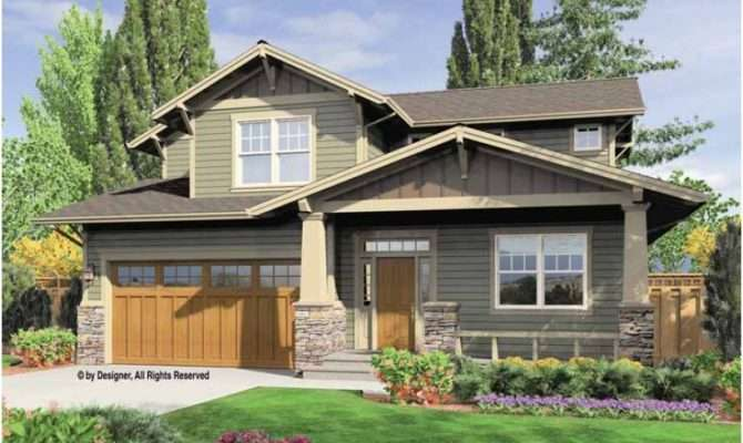 Eplans Contemporary Modern House Plan Cost Efficient Craftsman