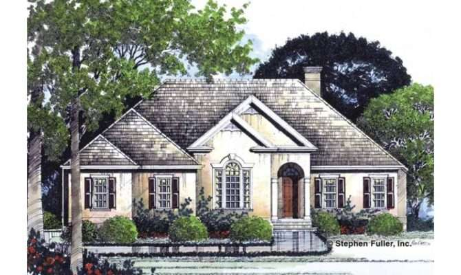 Eplans Cottage House Plan Basement Expansion Square Feet