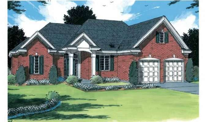 Eplans Cottage House Plan Great Empty Nester Home Square Feet