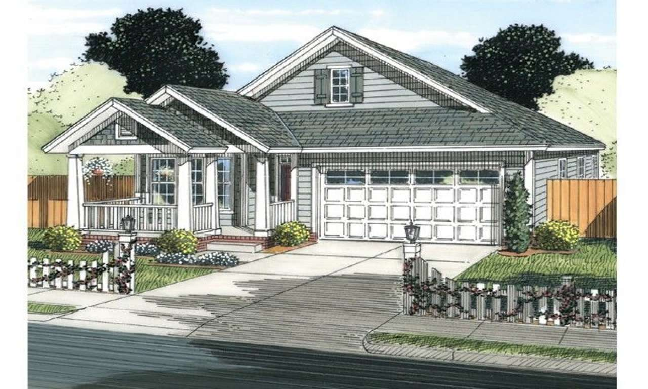 Eplans Cottage House Plan Square Feet Bedrooms
